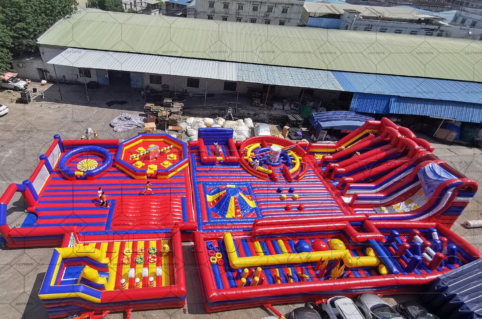 inflatable Indoor Park for adults and kids trampoline