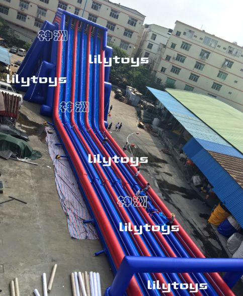 biggest inflatable water slide for adults