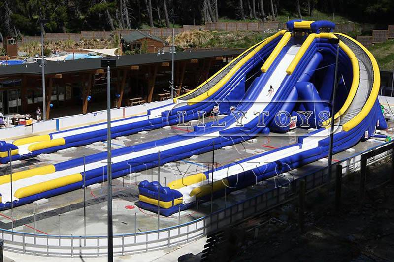 Trippo inflatable water slide 50m