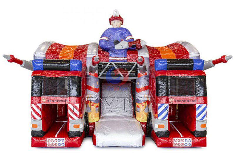 Inflatable Jumping Bouncer Combo with Slide Moonwalk for Sale