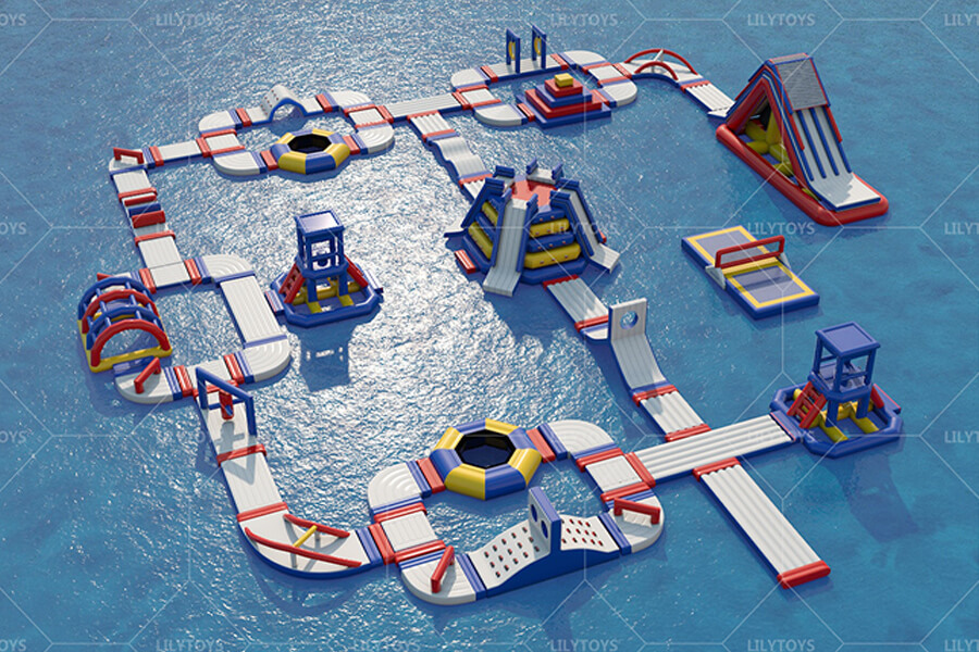 Floating water park obstacle -02