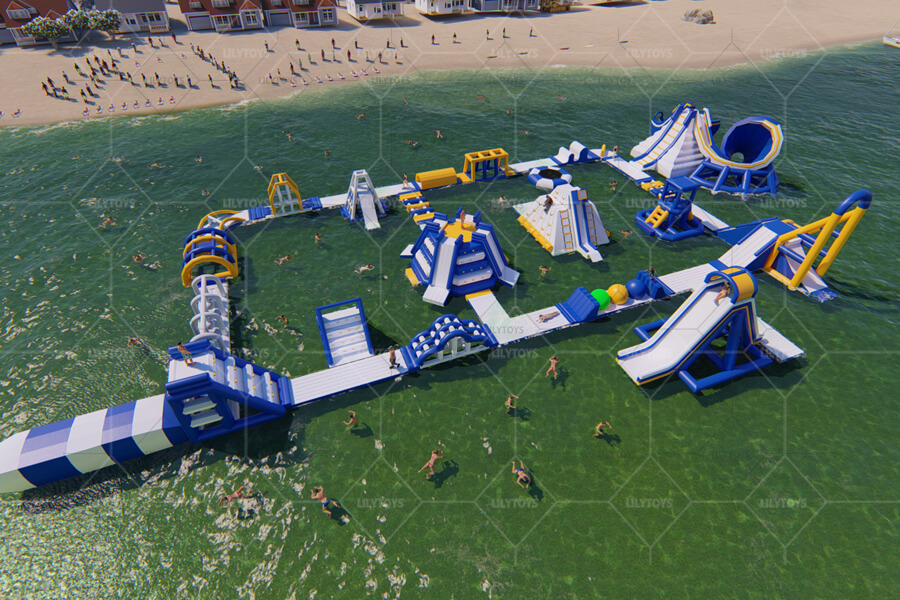 Floating water park obstacle -03