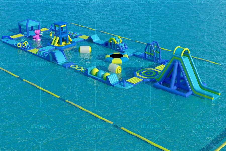 Floating water park obstacle -05