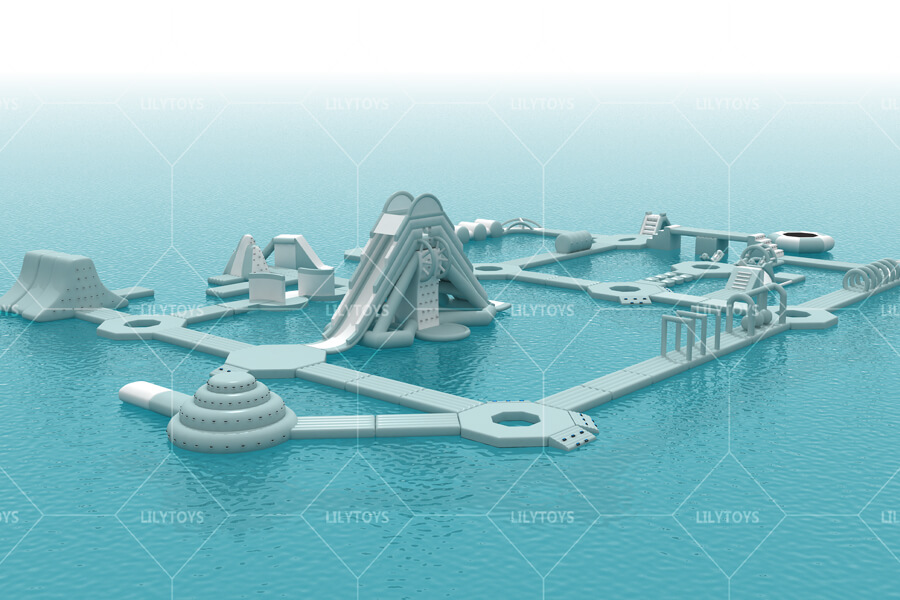Floating water park obstacle -06