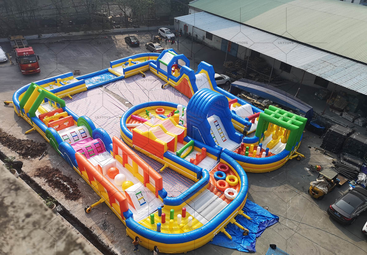Multi obstacle course 01