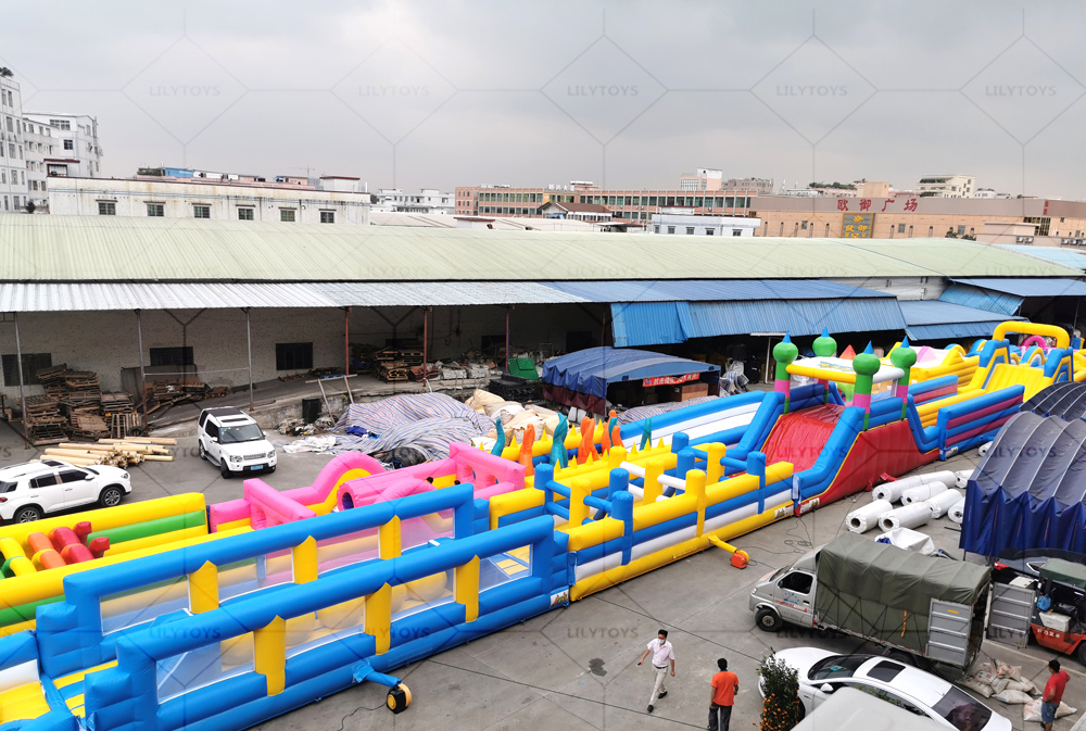 Multi obstacle course 02