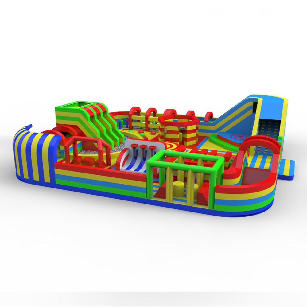 indoor interactive sport inflatable trampoline park