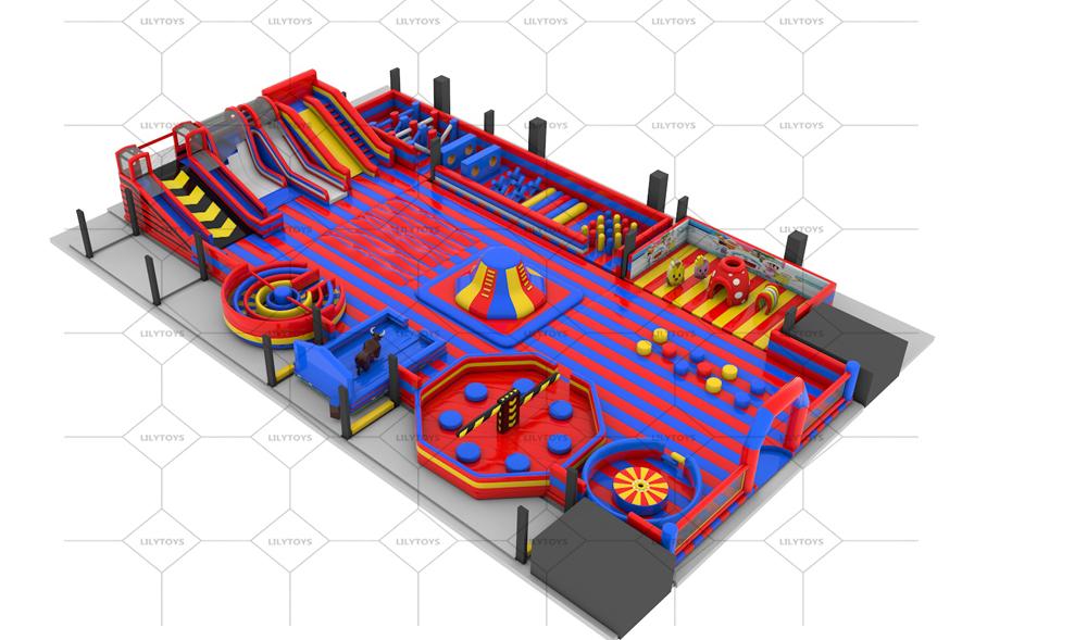 inflatable sport interative park