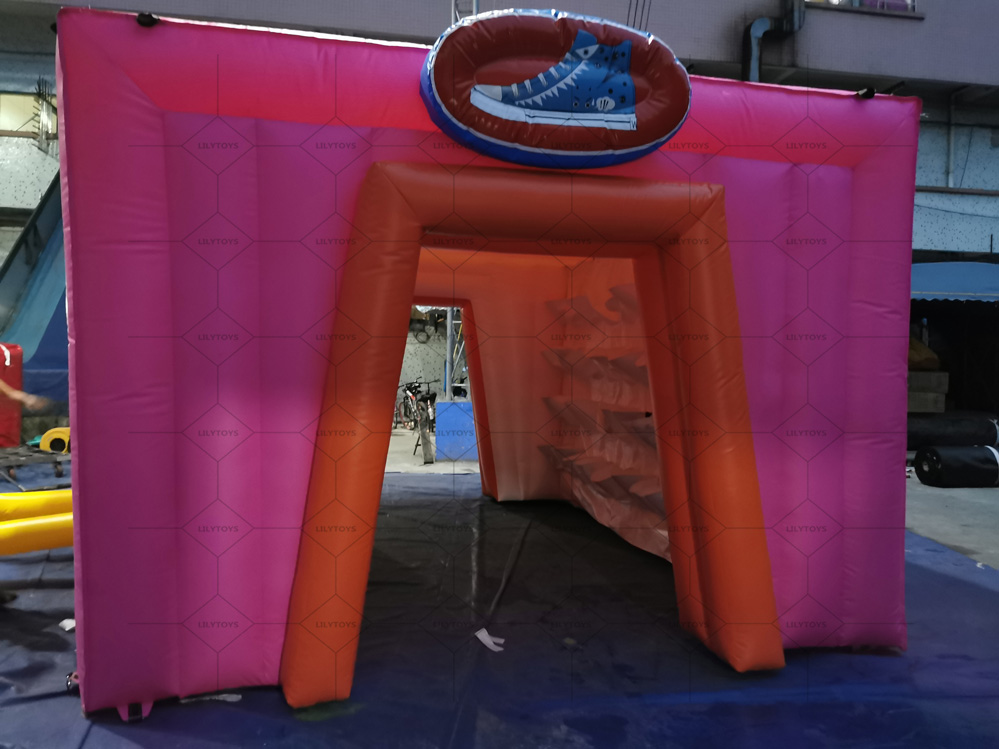 inflatable shoes room for the carnival