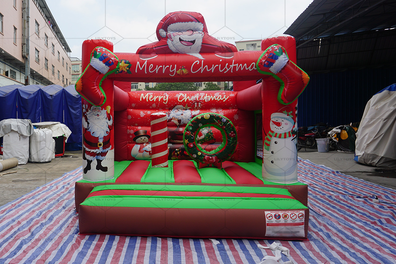 christmas inflatable bouncer