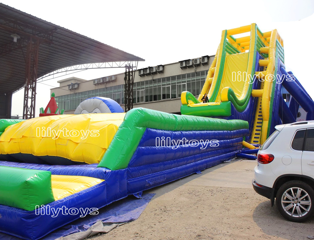 inflatable fly slide