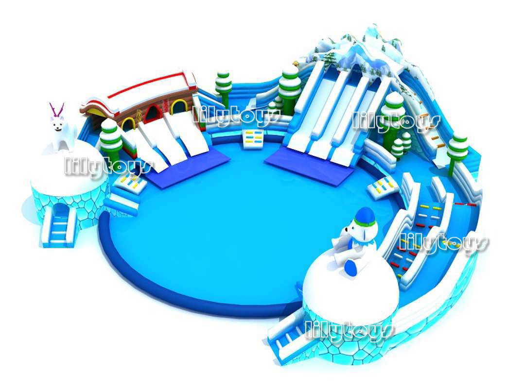 inflatable water park -02