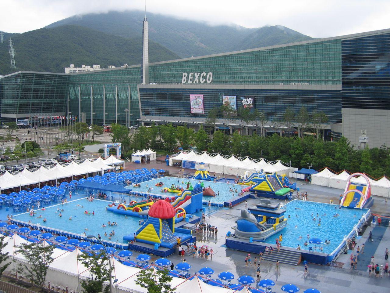 Big frame steel pool