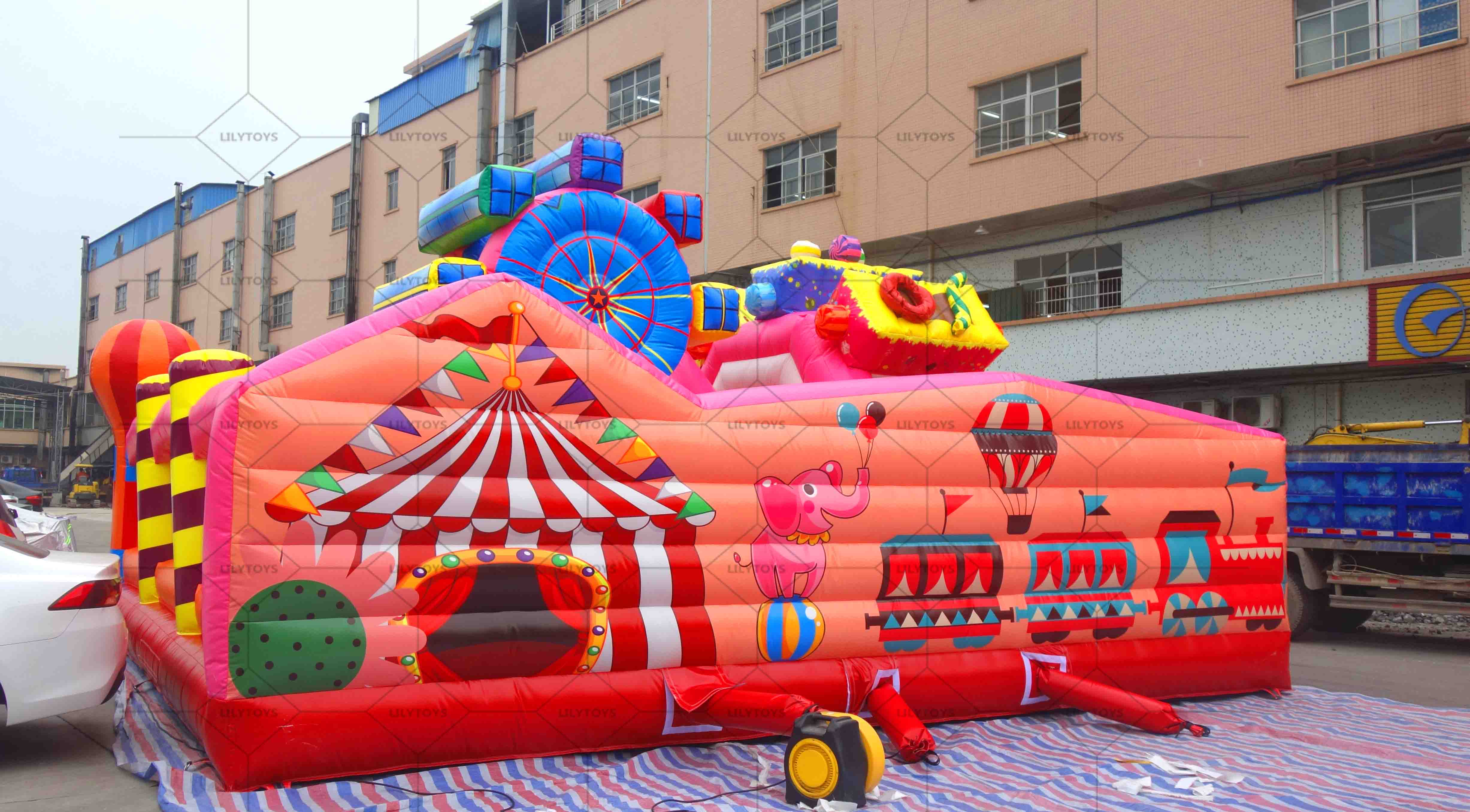 Carnival inflatable bounce castle jumping
