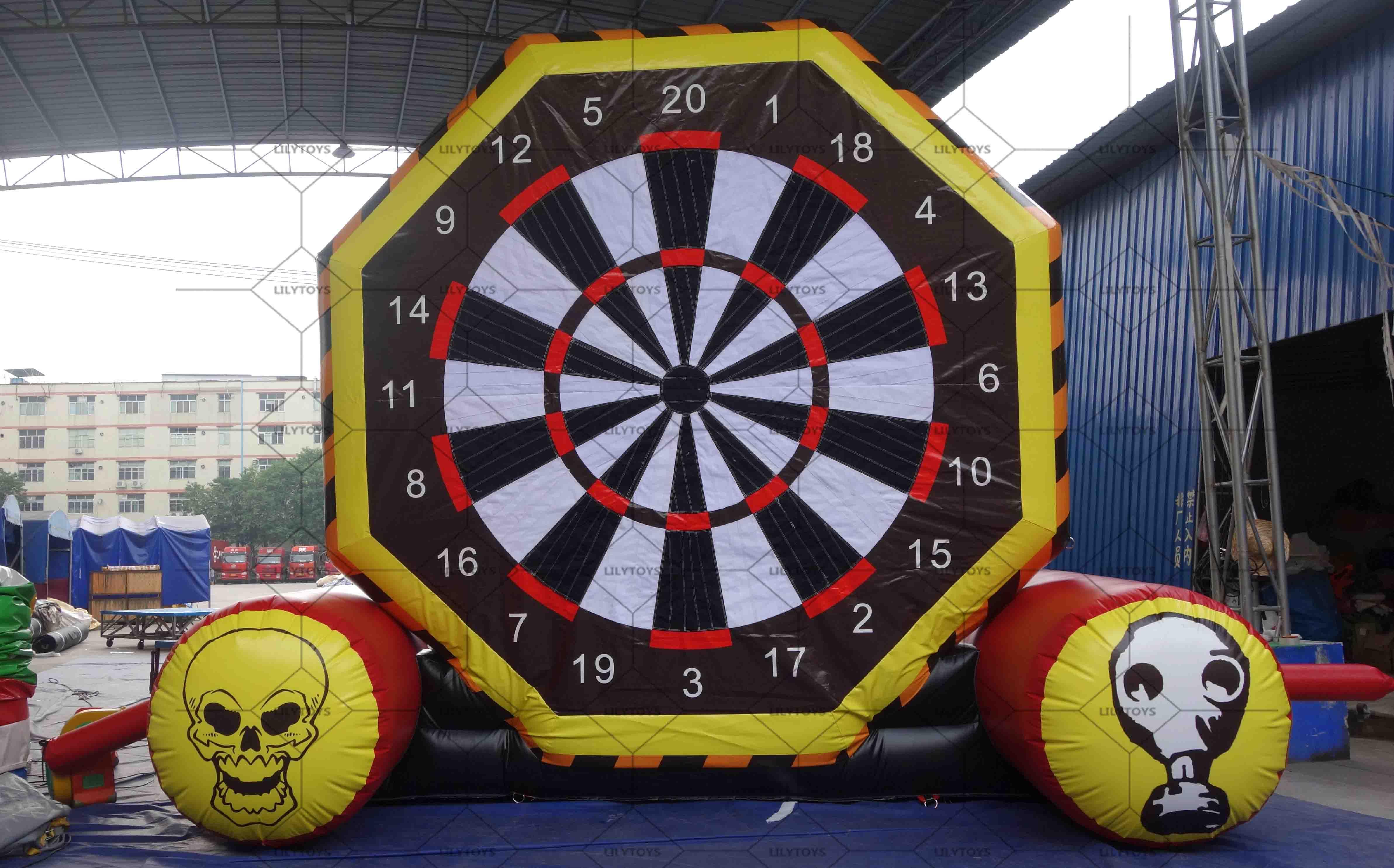 inflatable football darts