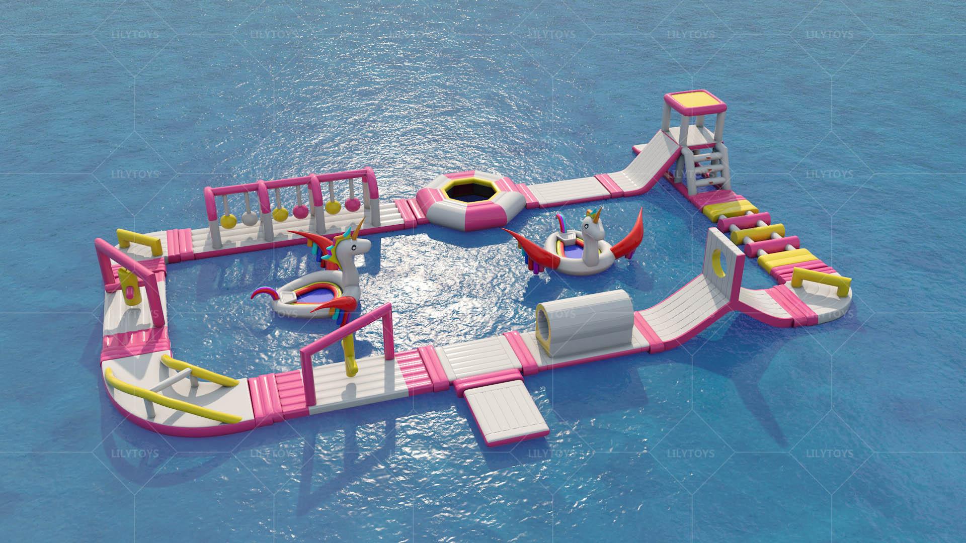 unicorn small floating  park