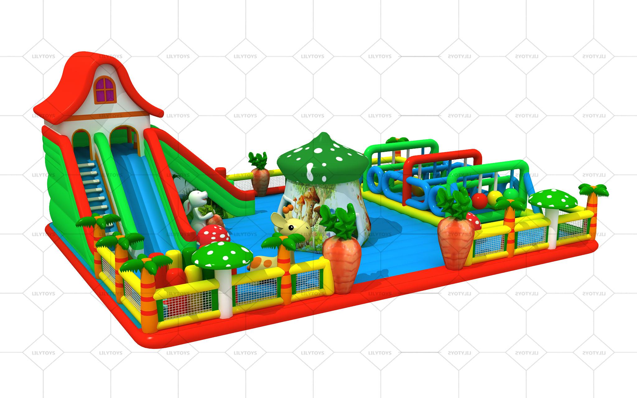 muitiplay inflatable playground
