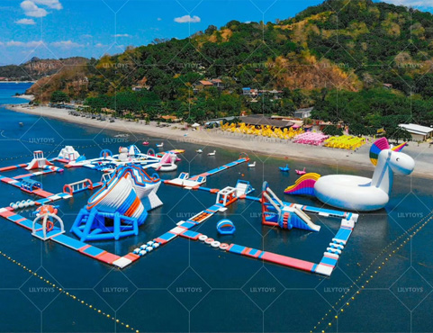 Biggest  floating  Park in Asia