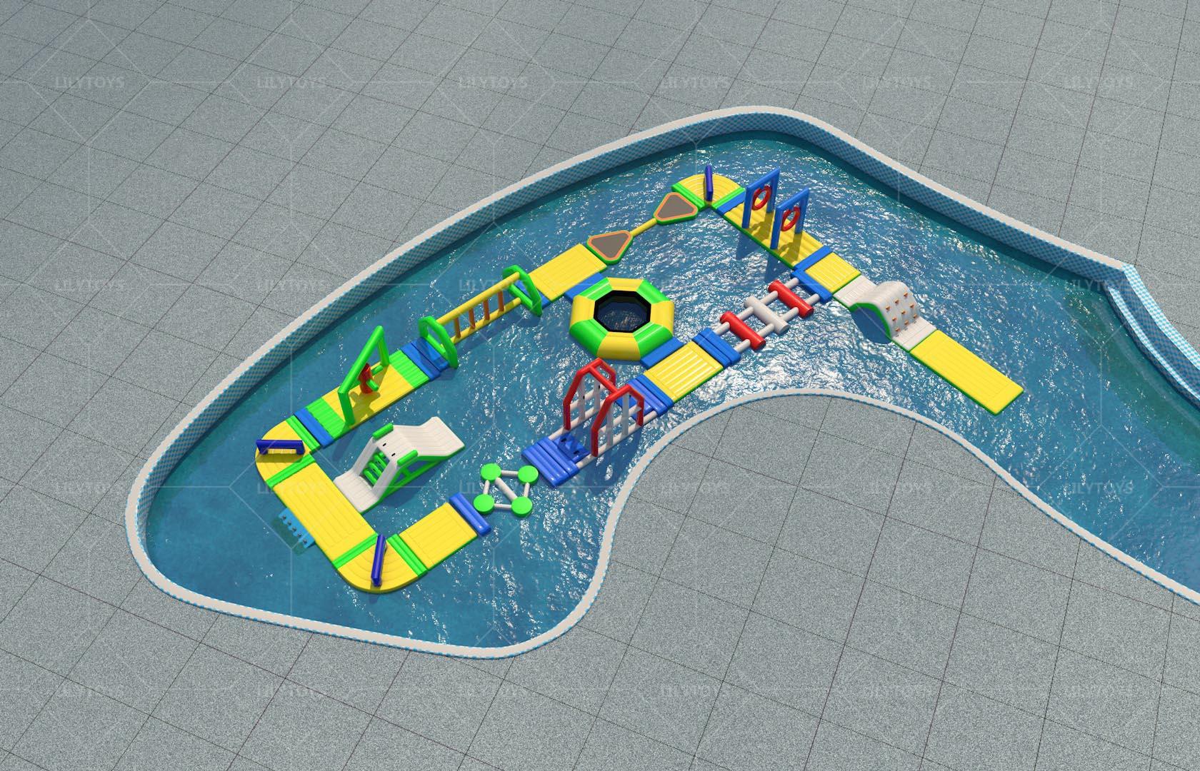 Pool water sport park