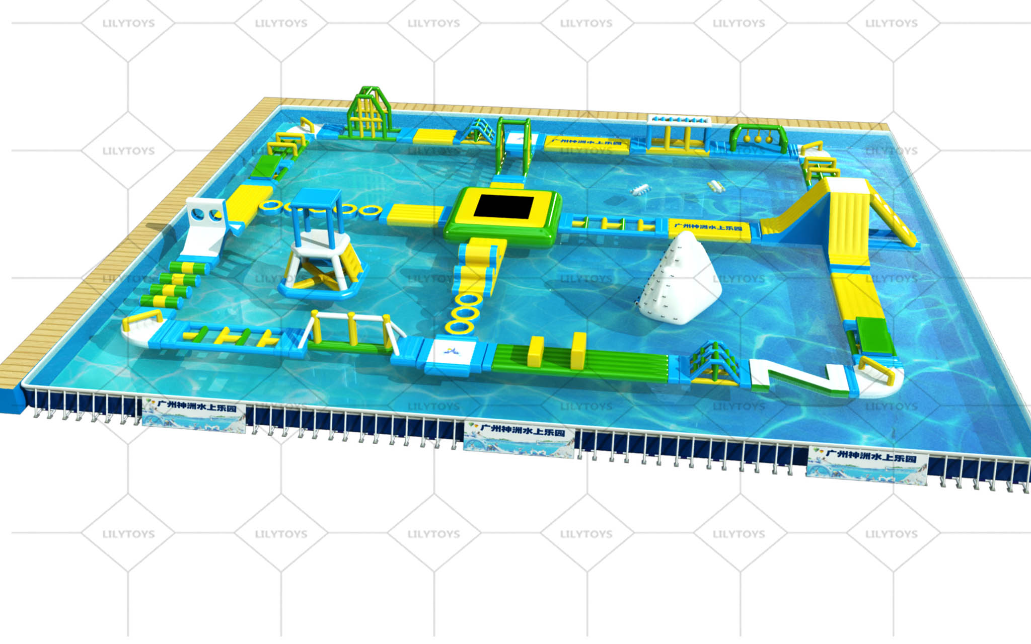 water park for the above ground pool