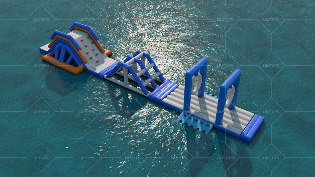 inflatable pool water park