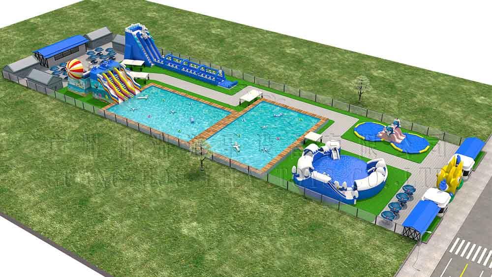 4000 square meter water park