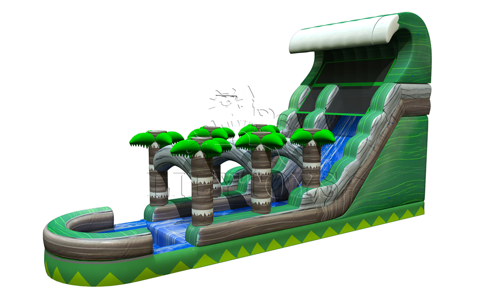 Lilytoys inflatable water slide for kids and adults