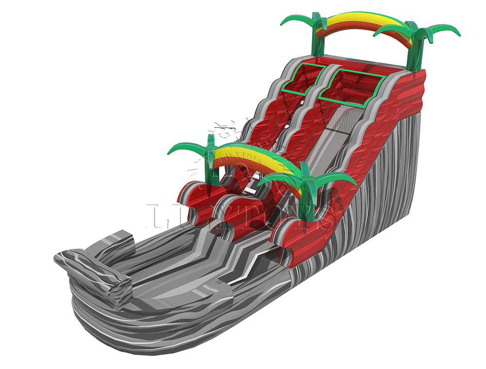 customized inflatable water slide