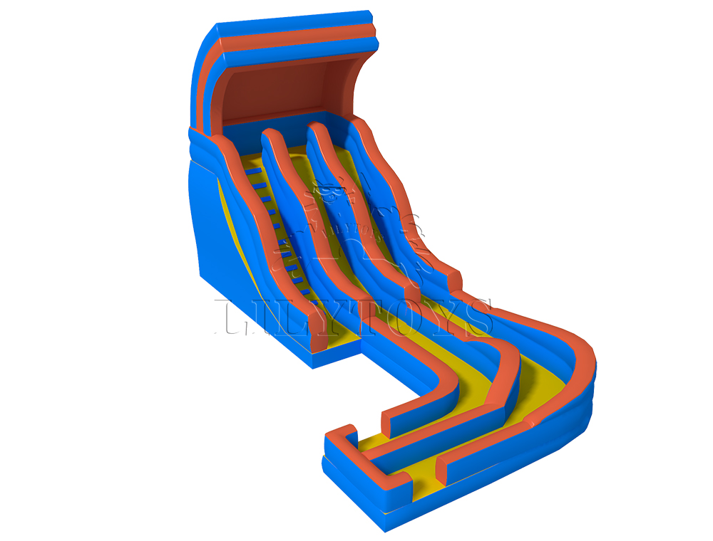 customized inflatable wet slide for sale 01