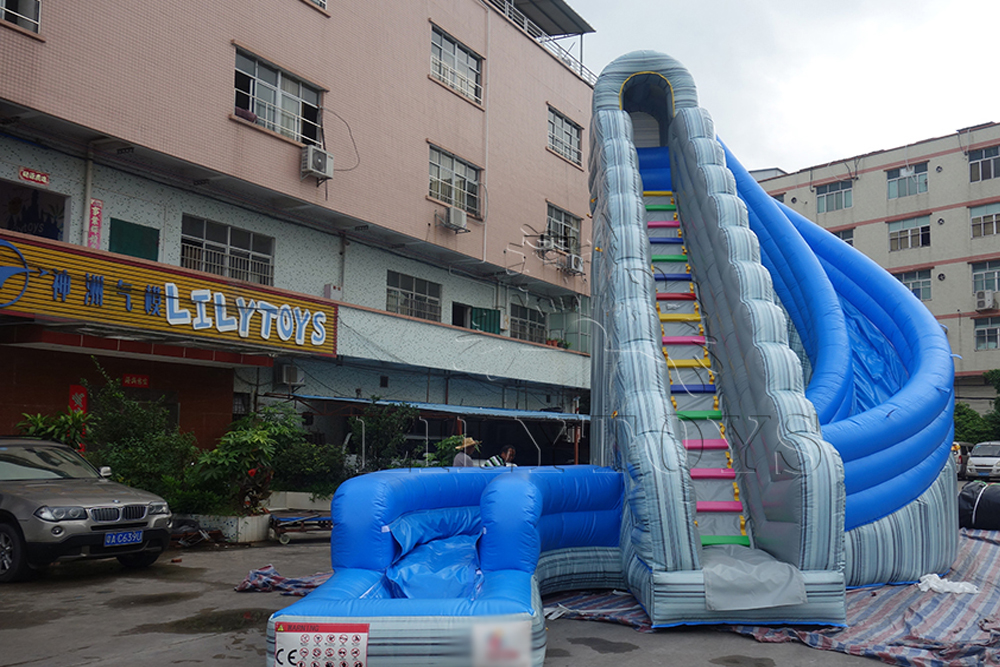 lilytoys inflatable slide with pool for sale