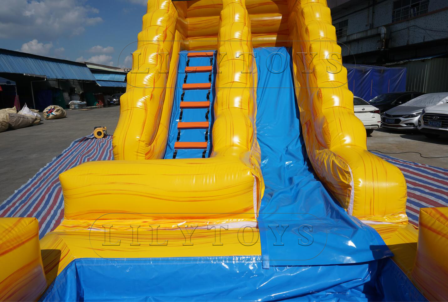 inflatable water slide for kids outdoor
