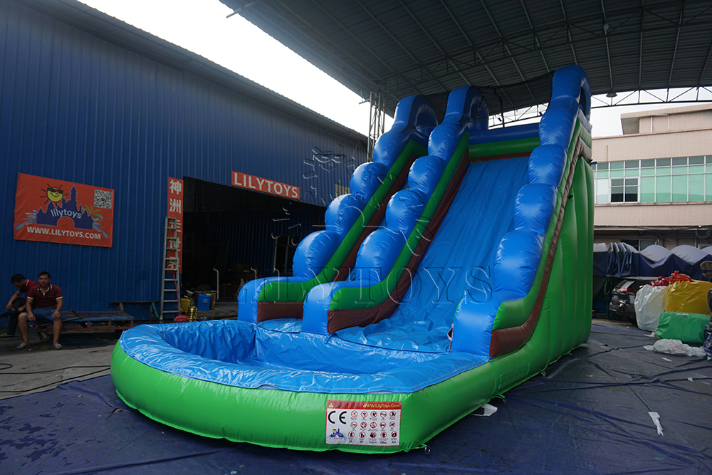 green splash slide n slip