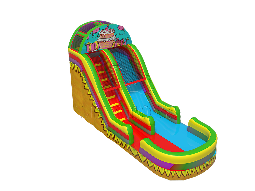 cute inflatable water slide with cheap price