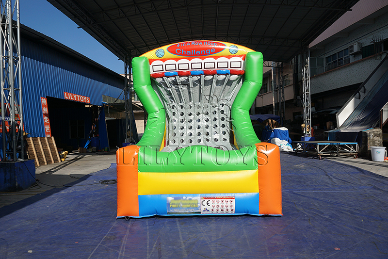 inflatable basket sport games