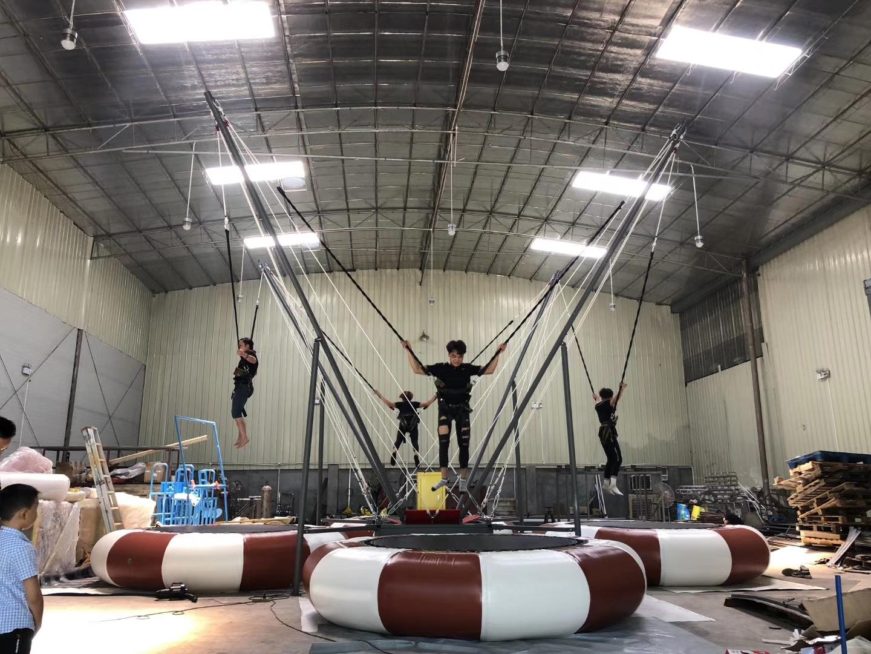 4 person trampoline