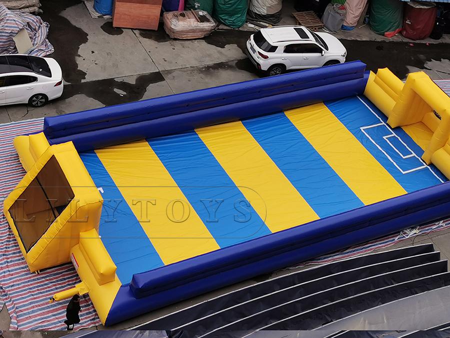 inflatable football field