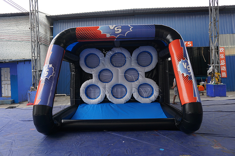 IPS inflatable shooting goal for rental