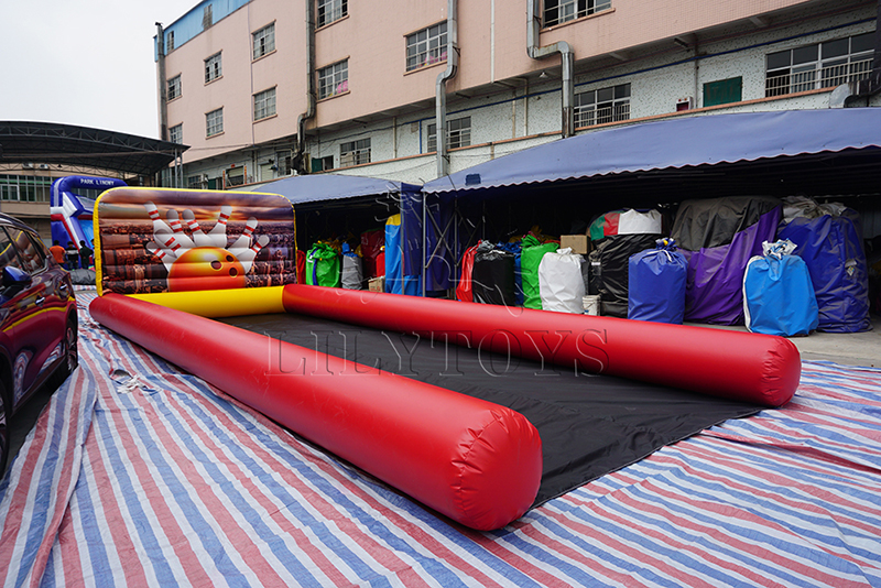 inflatable bowling  games