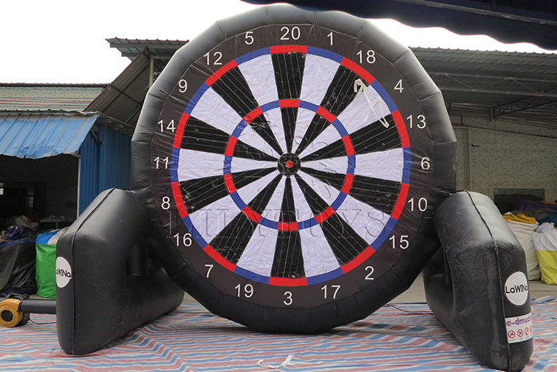 inflatable hot sale football darts games 2
