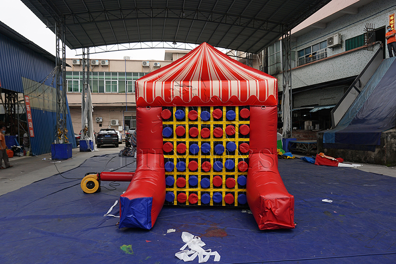 inflatable tic tac toe 4 in a row