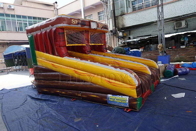 inflatable skee ball