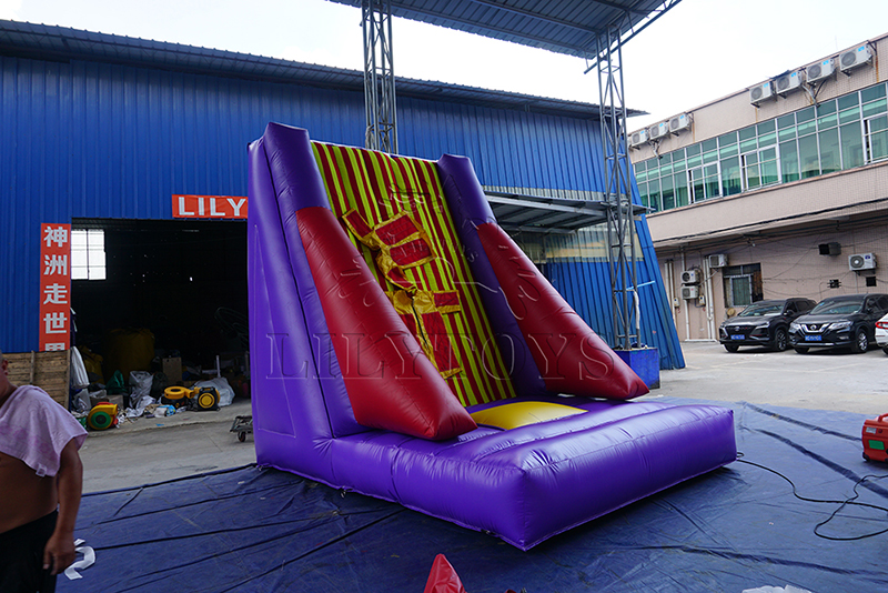 inflatable Velcro wall