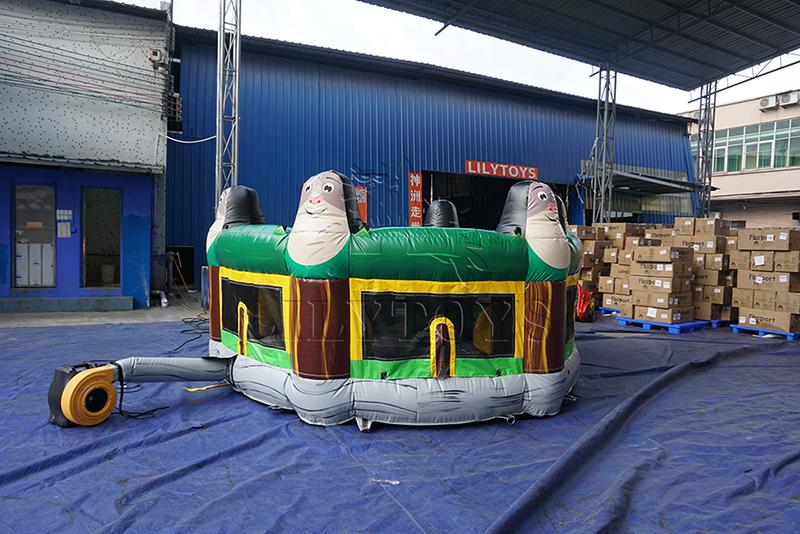 inflatable human whack a mole