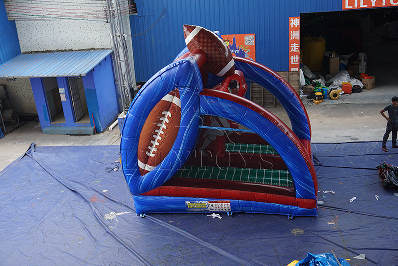 inflatable first down America football game
