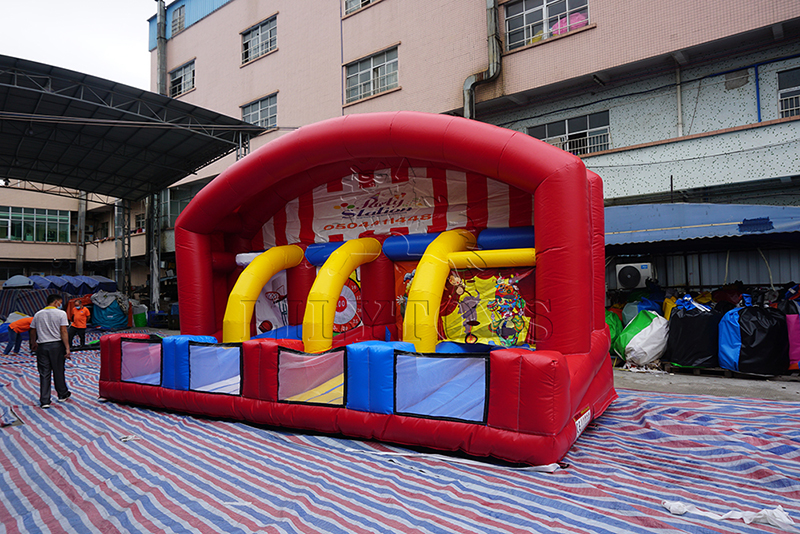 inflatable carnival 4 in 1 games