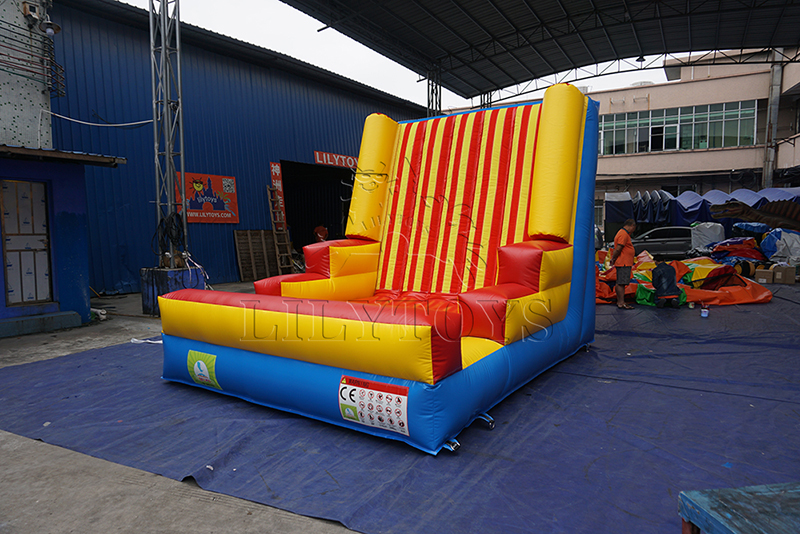 inflatable velcro wall for sell
