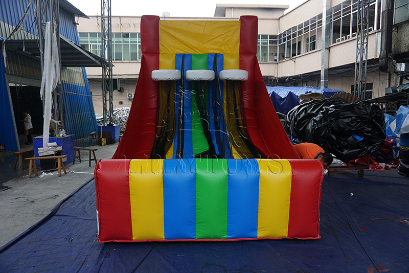 inflatable baseket ball goal
