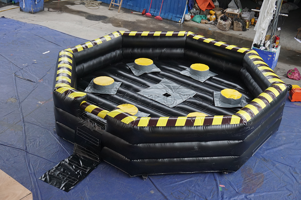 inflatable meltdown wipeout