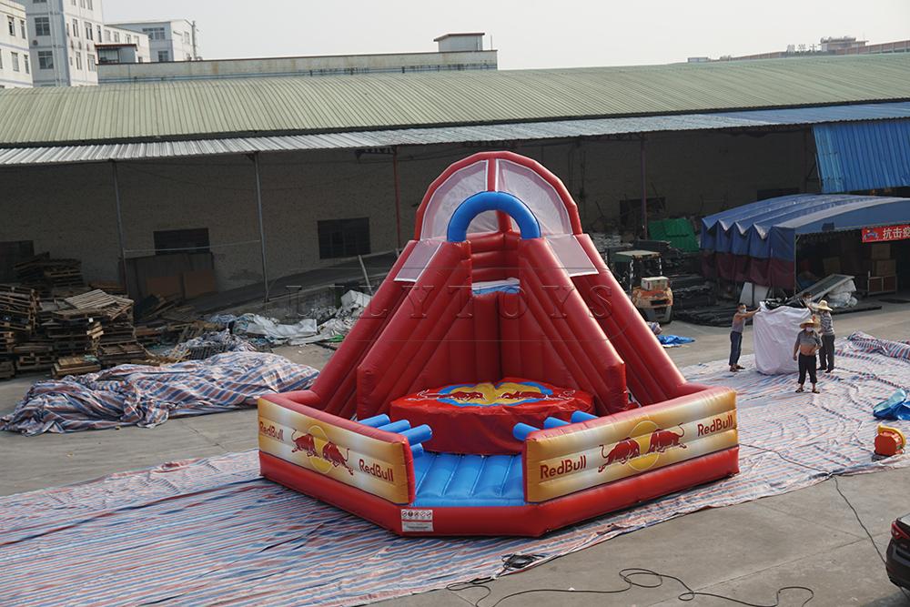 inflatable jump blob
