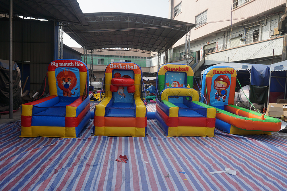 inflatable 4 in 1 interactive games